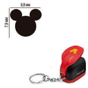 Furador-Chaveiro-Mini-para-Papel-Toke-e-Crie-CFMD01-79x88mm-Cabeca-Mickey-Mouse