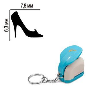 Furador-Chaveiro-Mini-para-Papel-Toke-e-Crie-CFMD04-63x78mm-Sapato-Cinderela