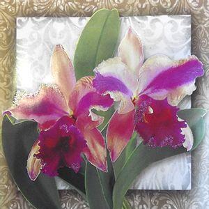 Adesivo-Decoupage-com-Glitter-Litocart-10x10-LAXG-019-Flores