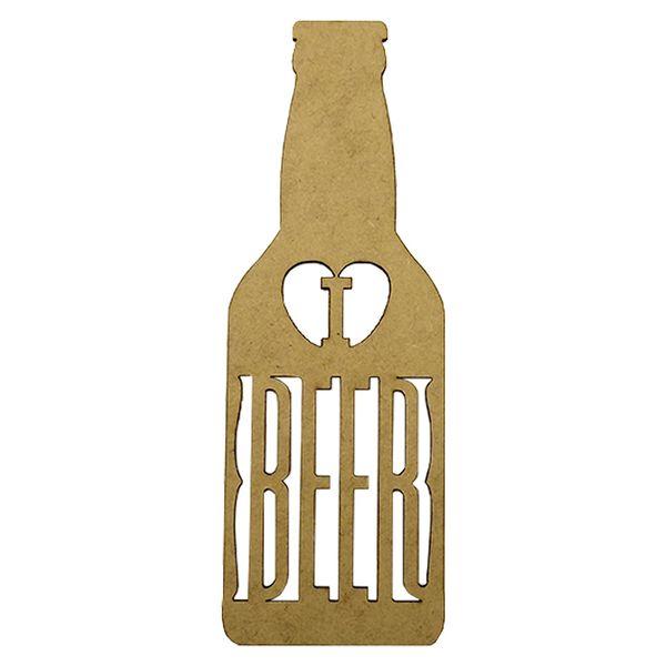 Aplique-em-MDF-Garrafa-I-Love-Beer-20x7cm---Palacio-da-Arte