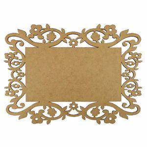 Aplique-Moldura-em-MDF-Retangular-15x107cm-Margaridas---Palacio-da-Arte