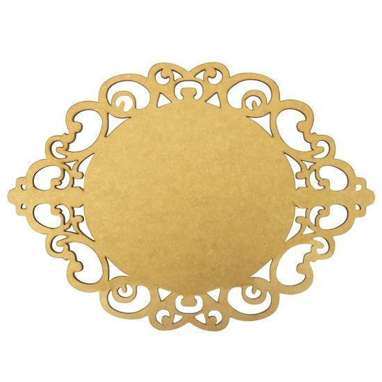 Aplique-Moldura-em-MDF-Oval-15x107cm-Provencal---Palacio-da-Arte