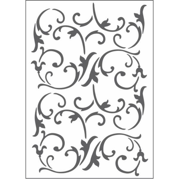 Placa-para-Relevo-2D-Elegance-Toke-e-Crie-PPR021-127x177-Videira