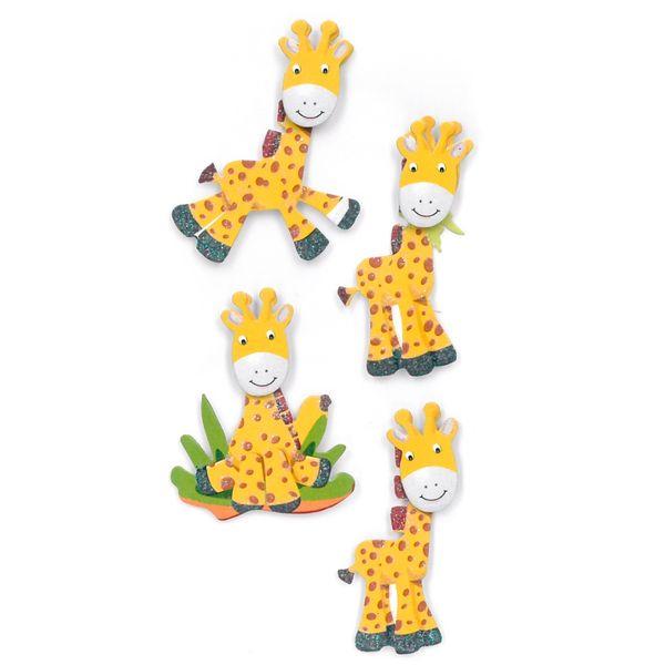 Adesivos-Feito-a-Mao-com-Glitter-Toke-e-Crie-AD1952-Girafas