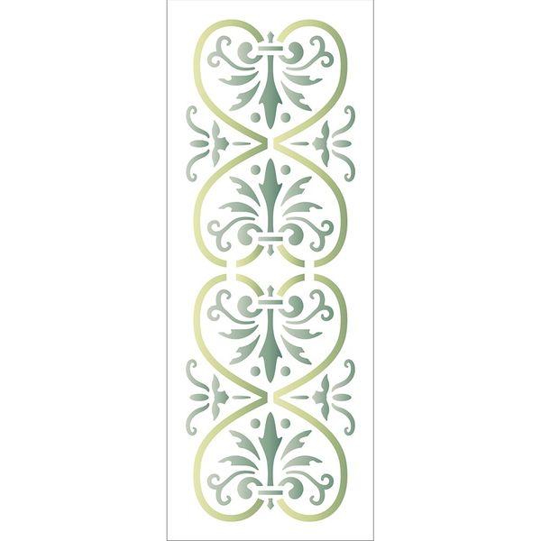 Stencil-Litoarte-17x65-STP-157-Listela-Ornamento