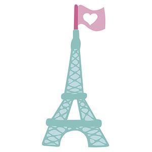 Aplique-Decoupage-Litoarte-APM8-1214-em-Papel-e-MDF-8cm-Amor-Love-Story-Torre-Eiffel