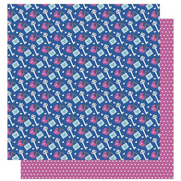 Papel-Scrapbook-Litoarte-305x305-SD-1001-Amor-Je-t--aime-Cadeado-Chaves