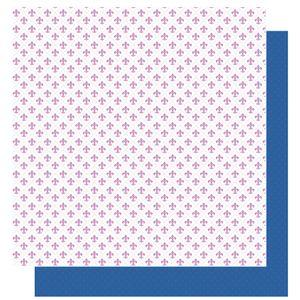 Papel-Scrapbook-Litoarte-305x305-SD-1006-Amor-Je-t--aime-Flor-de-Lis-e-Poa