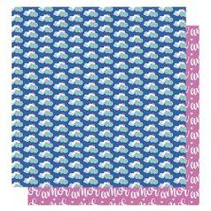 Papel-Scrapbook-Litoarte-305x305-SD-1007-Amor-Je-t--aime-Nuvem-Coracao