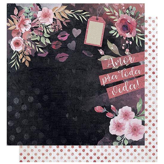 Papel-Scrapbook-Litoarte-305x305-SD-1009-Amor-Love-Story-Flores-e-Verso-Poa