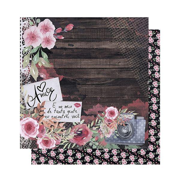 Papel-Scrapbook-Litoarte-305x305-SD-1011-Amor-Love-Story-Flores-e-Maquina-Fotografica