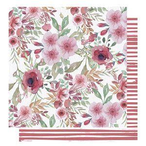 Papel-Scrapbook-Litoarte-305x305-SD-1013-Amor-Love-Story-Flores-e-Listras