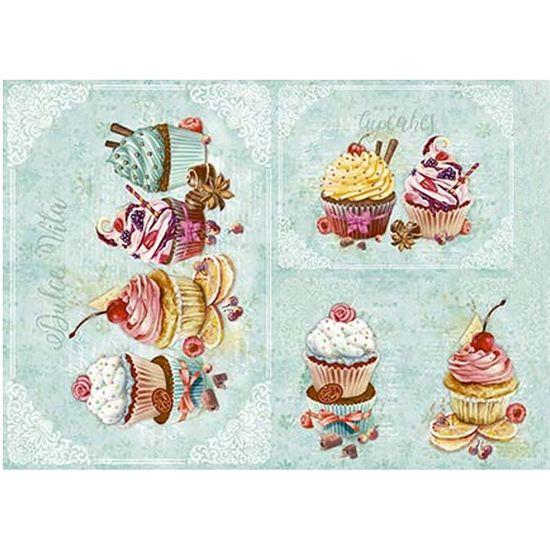 Slim-Paper-Decoupage-Litoarte-473x338-SPL-039-Cupcake