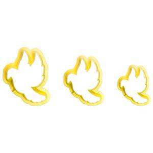 Jogo-Cortadores-de-Pasta-Americana-e-Biscuit-Blue-Star-Pombo-da-Paz-3-Pecas