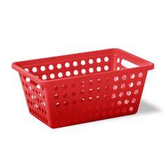 Cesta-Organizadora-Sem-Alca-G-Vermelho-em-Polipropileno-357-5---Niquelart