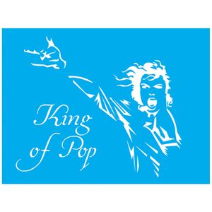 Stencil-Litocart-20x15-LSM-141-King-of-Pop