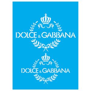 Stencil-Litocart-20x15-LSM-135-Dolce---Gabbana