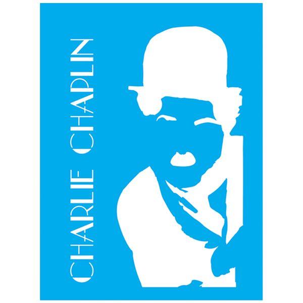 Stencil-Litocart-20x15-LSM-139-Charlie-Chaplin