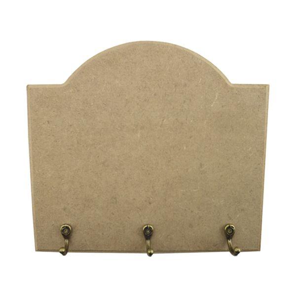 Porta-Chaves-Base-Lisa-em-MDF-175x20cm-3-Ganchos---Palacio-da-Arte