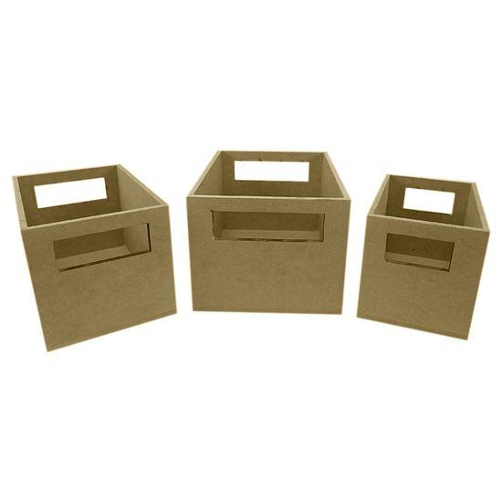 Trio-de-Caixotes-Miniatura-em-MDF-6mm-Liso---Palacio-da-Arte
