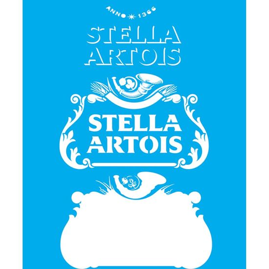 Stencil-Litocart-25x20-LSG-152-Stella-Artois