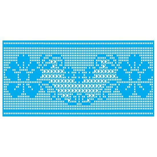 Stencil-Litocart-15x30-LSBCG-022-Croche-Flor