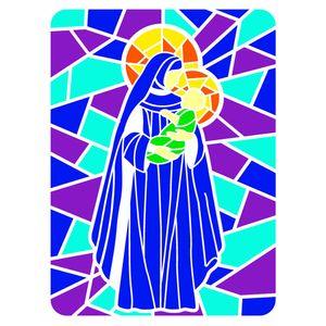 Stencil-OPA-Natal-20x25-2741-Vitral-Nossa-Senhora-2
