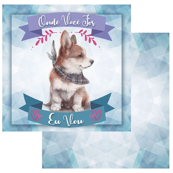 Papel-Scrapbook-OPA-15x15-OPACARD-2761-Pet-1-Cachorro