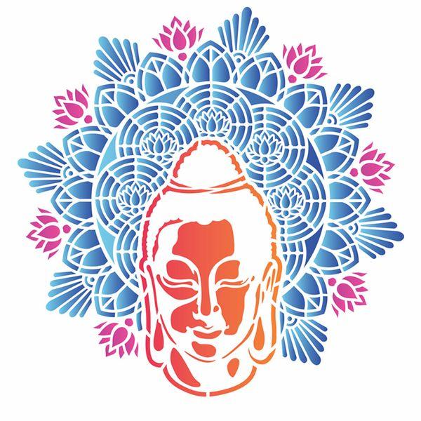 Stencil-OPA-305x305-2730-Mandala-Buda