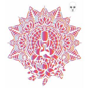 Stencil-OPA-20x25-2726-Mandala-Buda