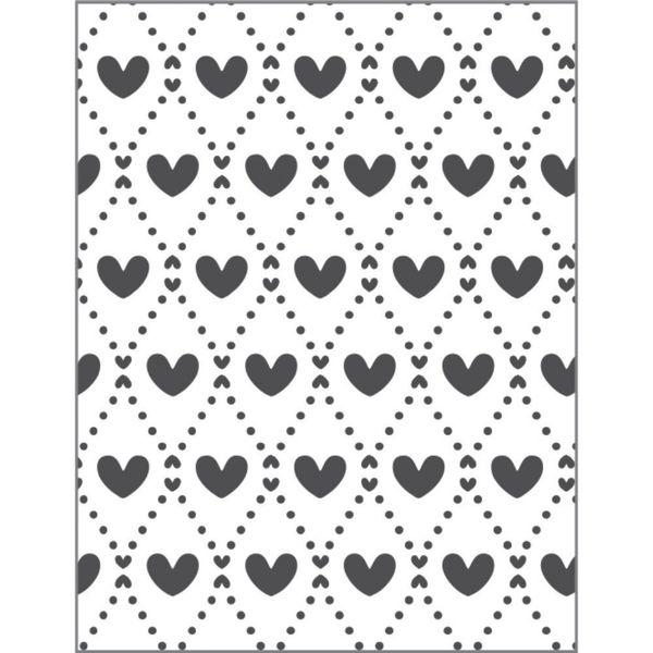 Placa-para-Relevo-2D-Elegance-Toke-e-Crie-PPR023-127x75-Mini-Coracoes