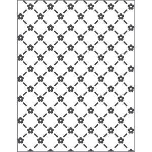 Placa-para-Relevo-2D-Elegance-Toke-e-Crie-PPR025-127x75-Mini-Flores