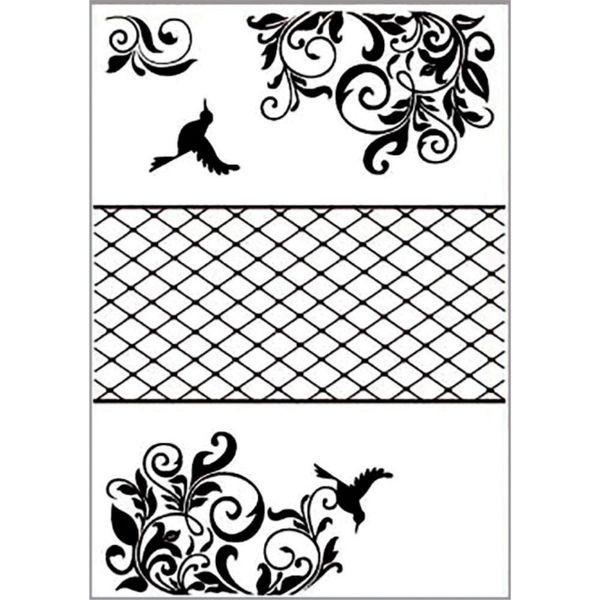 Placa-para-Relevo-2D-Elegance-A4-Toke-e-Crie-PPR032-297x21-Beija-Flor