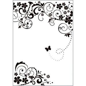 Placa-para-Relevo-2D-Elegance-A4-Toke-e-Crie-PPR031-297x21-Borboleta-na-Videira