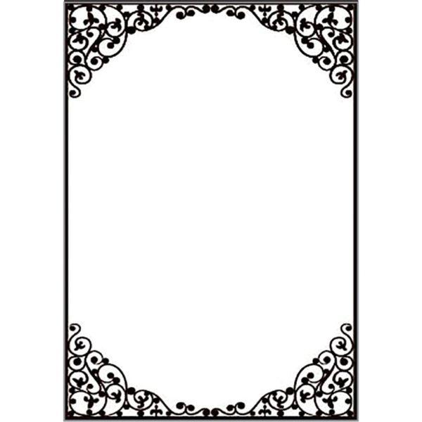 Placa-para-Relevo-2D-Elegance-A4-Toke-e-Crie-PPR030-297x21-Moldura