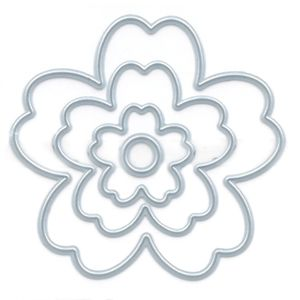 Faca-de-Corte-Elegance-Toke-e-Crie-FPC019-7x67cm-Flor-Estilizada