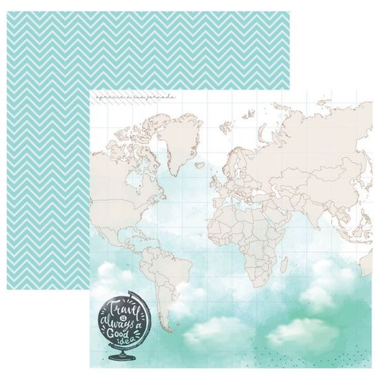 Papel-Scrapbook-Toke-e-Crie-305x305-SDF844-Hora-de-Viajar-Mapa-Mundi