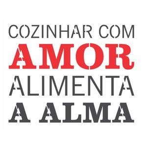 Stencil-OPA-15x20-2705-Frase-Cozinhar-com-Amor