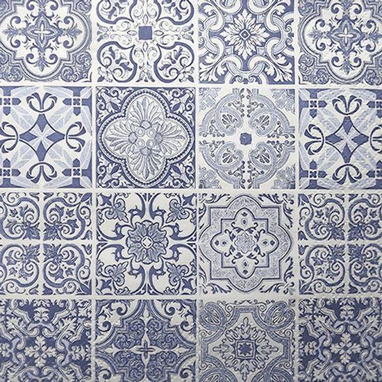 Guardanapo-Decoupage-Toke-e-Crie-GUA211903-2-unidades-Azulejos-Azuis