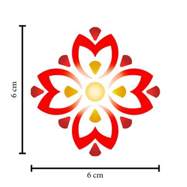 Stencil-Litoarte-10x10-STX-383-Mandala-Flor