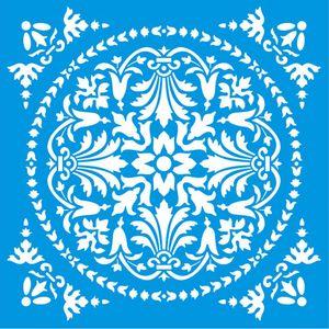 Stencil-Litoarte-20x20-STXX-146-Azulejo