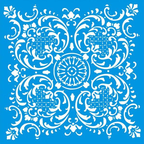 Stencil-Litoarte-20x20-STXX-151-Azulejo-de-Arabescos