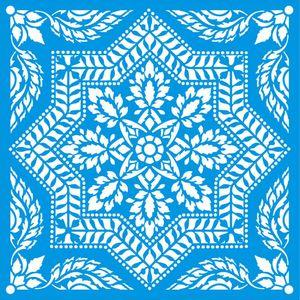 Stencil-Litoarte-20x20-STXX-152-Azulejo-de-Arabescos