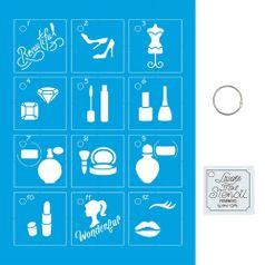 Kit-Stencil-Mini-Litoarte-com-14-pecas-45cm-STMI-014-Feminino