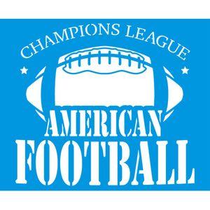 Stencil-Litoarte-211x172-STM-688-Emblema-Futebol-Americano