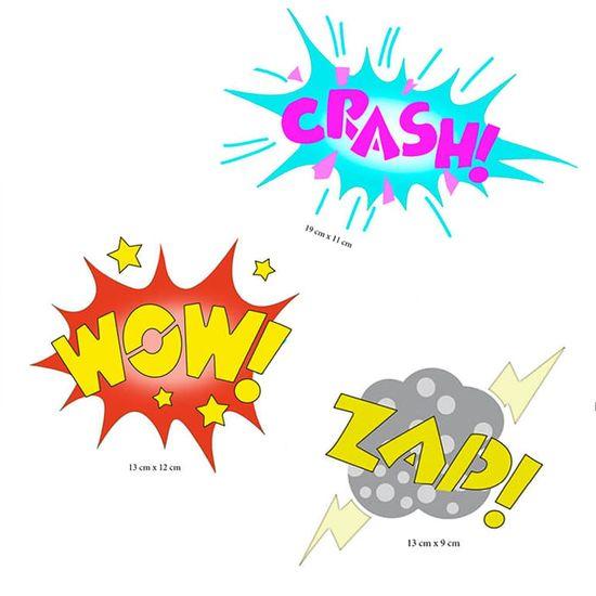 Stencil-Litoarte-344x21-ST-410-Baloes-Wow--Crash--Zap-