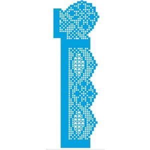 Stencil-Litoarte-36x11-STGE-012-Renda-File-Floral