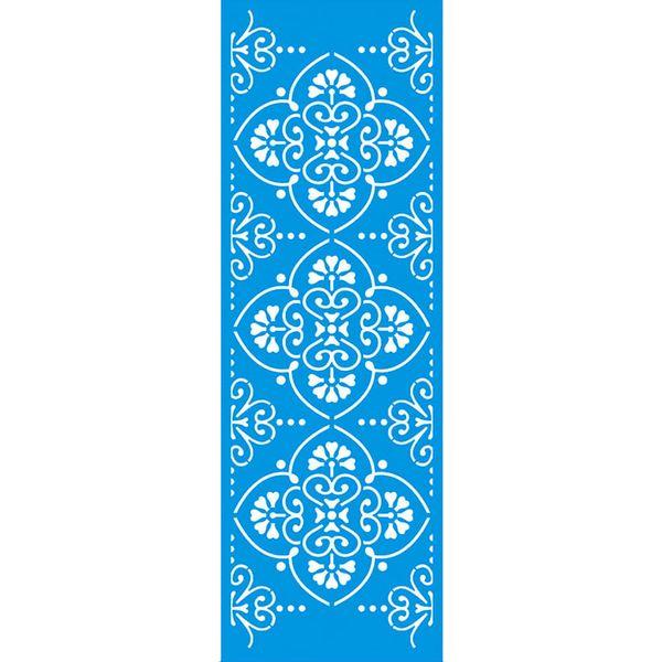 Stencil-Litoarte-42x14-STGE-009-Azulejo-de-Arabescos