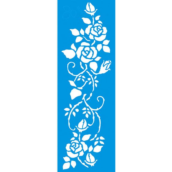 Stencil-Litoarte-42x14-STGE-008-Barrado-de-Rosas