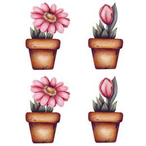 Aplique-Decoupage-Litoarte-APM3-276-em-Papel-e-MDF-3cm-Flores